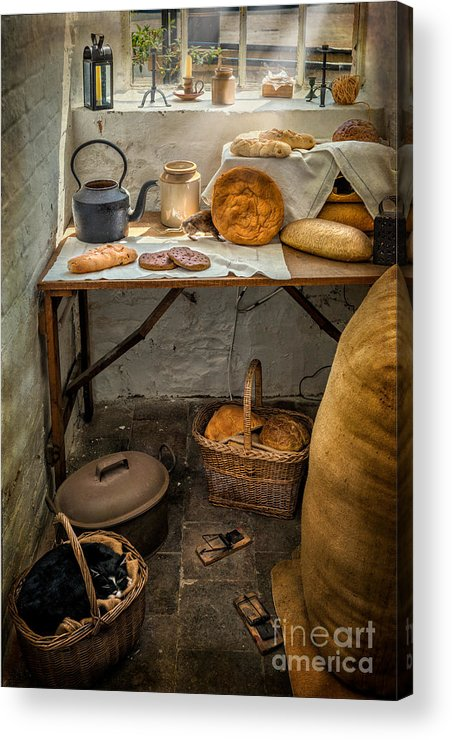 British Acrylic Print featuring the photograph Victorian Bakers by Adrian Evans
