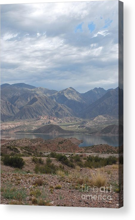 Andes Acrylic Print featuring the photograph Andes by Jen Bodendorfer