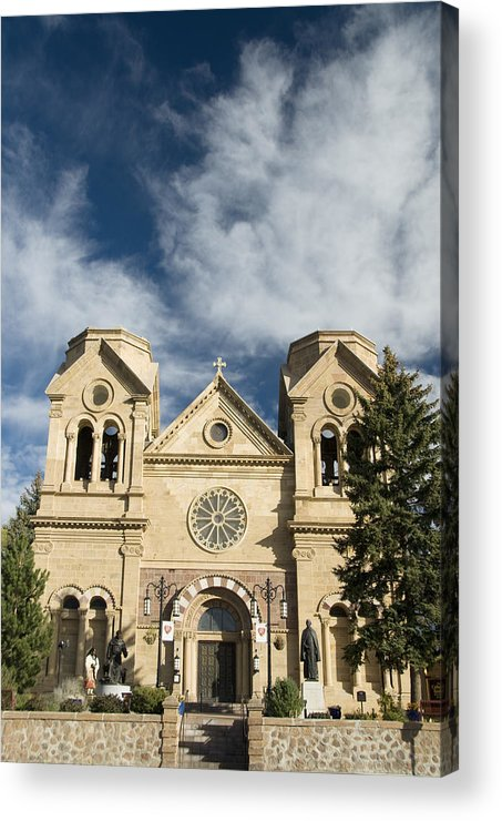 America Acrylic Print featuring the photograph Basilica Of St Francis by Gloria & Richard Maschmeyer