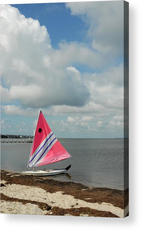 Sail Boats Acrylic Print featuring the photograph Boats 121 by Joyce StJames