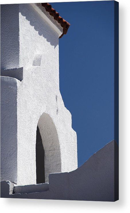 Architecture Acrylic Print featuring the photograph Church Bell Tower Chacras De Coria by Philippe Widling