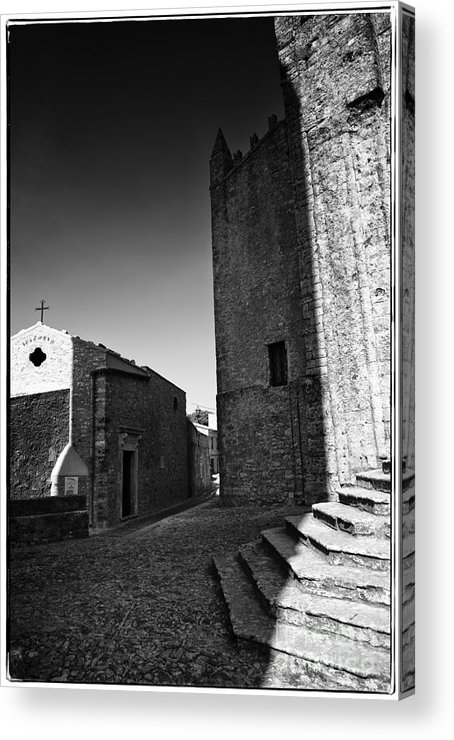Church Acrylic Print featuring the photograph Cross Road 2 by Madeline Ellis