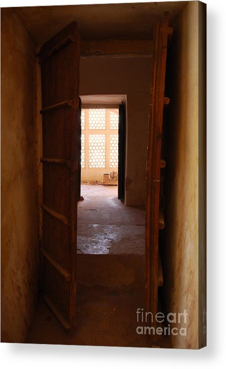 India Acrylic Print featuring the photograph Doorway by Jen Bodendorfer