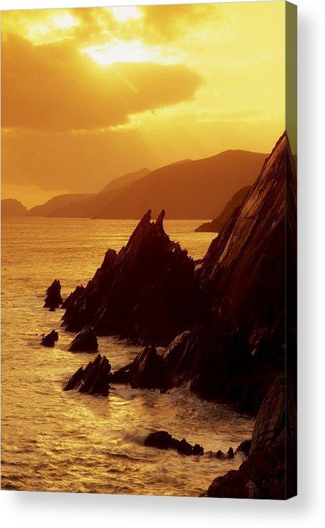 Coast Acrylic Print featuring the photograph Dunmore Head, Dingle Peninsula, County by Richard Cummins