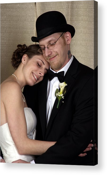 Acrylic Print featuring the photograph Matt And Jen 01 by Michael Dorn