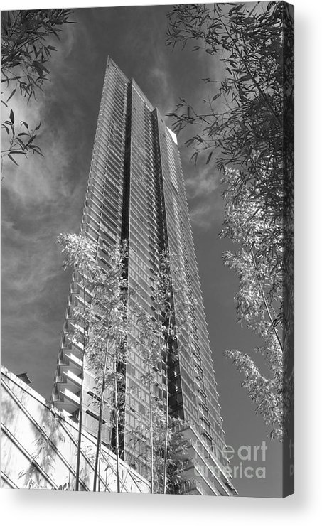 Hotel Acrylic Print featuring the photograph Pacific Rim Hotel by Douglas Williams