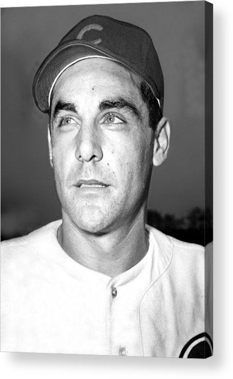 1940s Acrylic Print featuring the photograph Phil Cavarretta, Lefty First Baseman by Everett