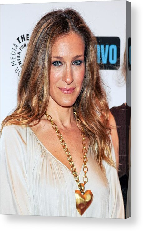 Sarah Jessica Parker Acrylic Print featuring the photograph Sarah Jessica Parker At Arrivals by Everett