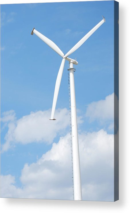 Air Acrylic Print featuring the photograph Vertical Windmill by Kim French