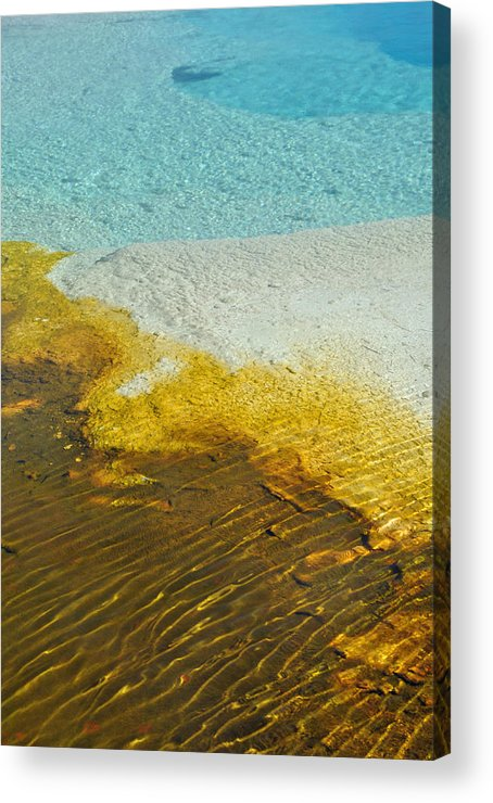 Yellowstone Acrylic Print featuring the photograph Warm Beauty by Bruce Gourley