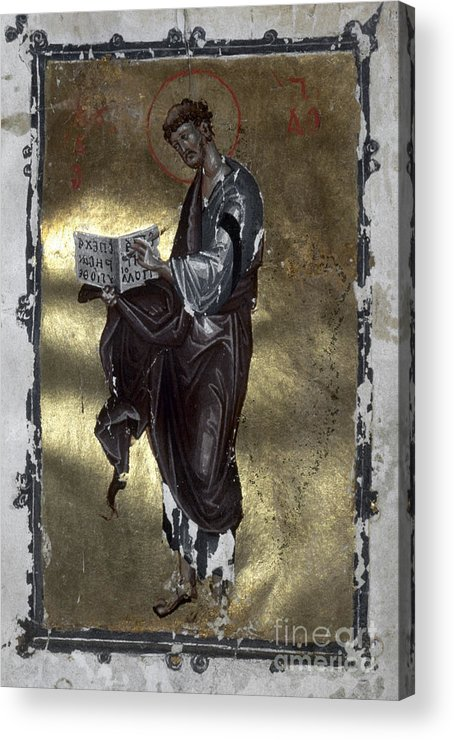 13th Century Acrylic Print featuring the painting Saint Luke by Granger