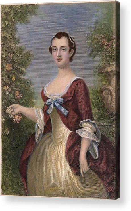 1757 Acrylic Print featuring the photograph Martha Washington by Granger
