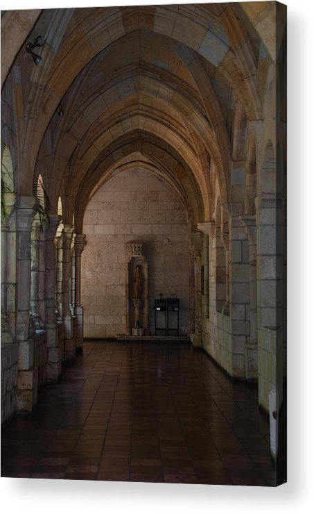 Architecture Acrylic Print featuring the photograph Miami Monastery by Rob Hans