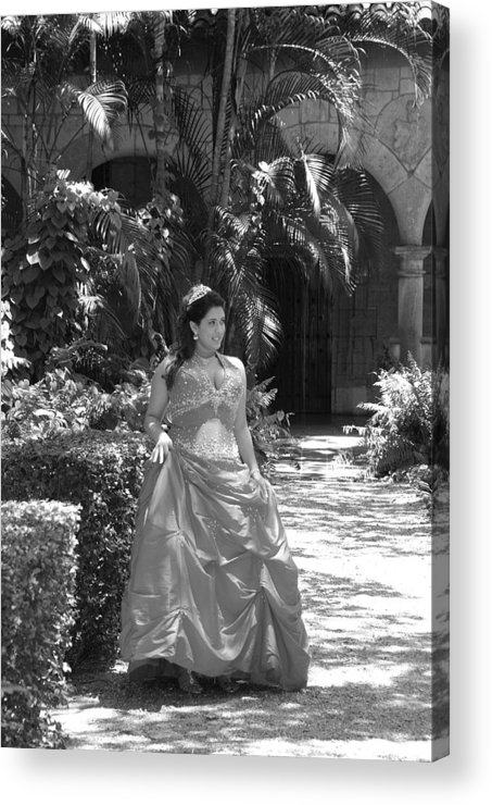 Girl Acrylic Print featuring the photograph The Princess by Rob Hans