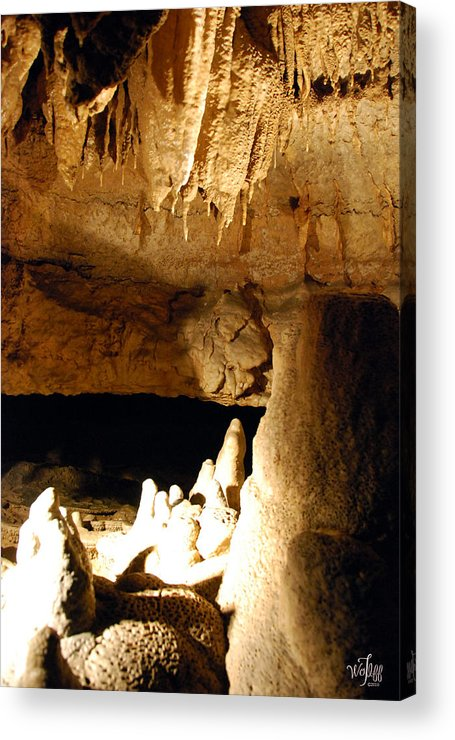 Cave Acrylic Print featuring the photograph Cave by Thea Wolff