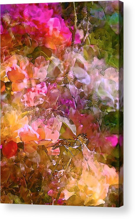 Abstract Acrylic Print featuring the photograph Abstract 276 by Pamela Cooper