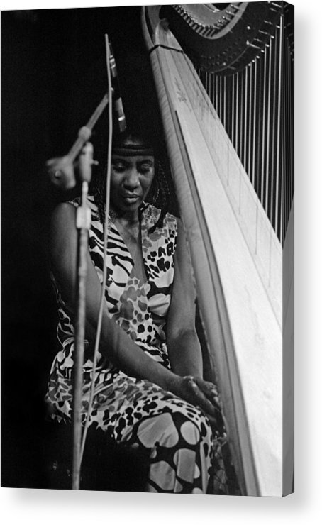 Jazz Acrylic Print featuring the photograph Alice Coltrane by Lee Santa