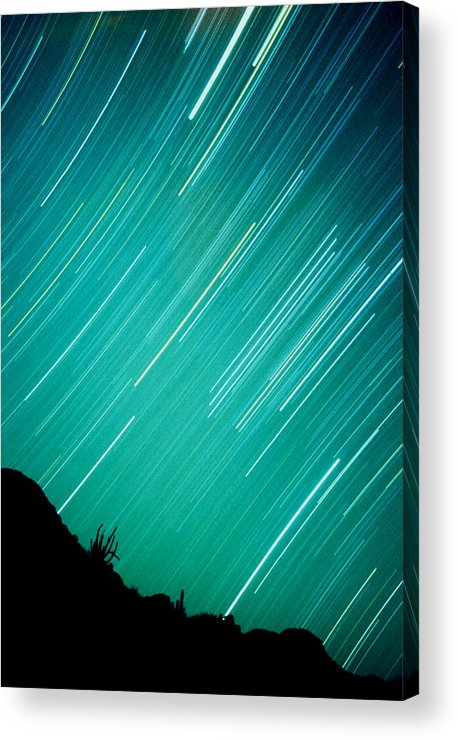 Photography Acrylic Print featuring the photograph Baja Starry Night by Benjamin Garvey