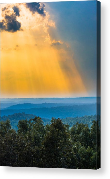 Sunlight Acrylic Print featuring the photograph Beauty From The Heavens by Parker Cunningham
