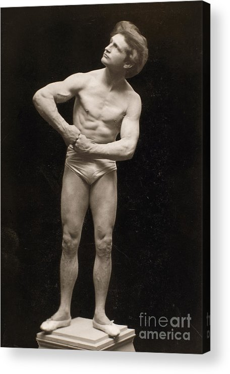 1895 Acrylic Print featuring the painting Bernarr Macfadden by Granger