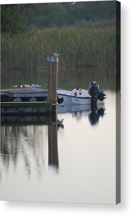 Water Acrylic Print featuring the photograph Broward Boat by Rob Hans
