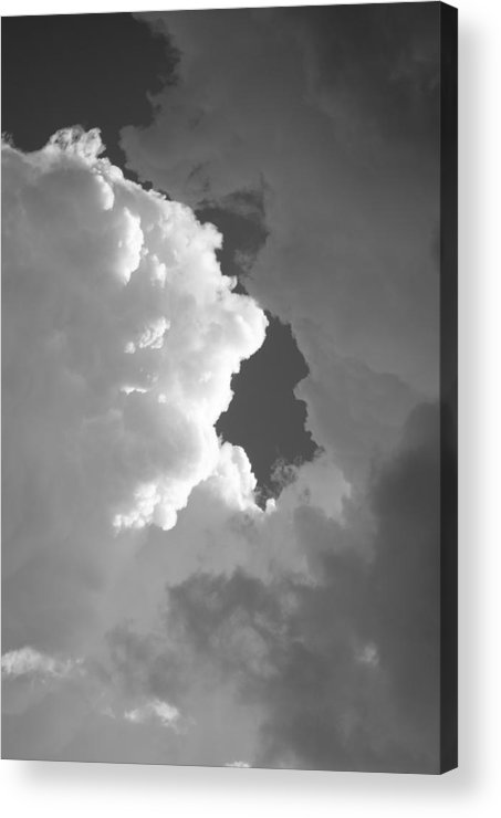 Sky Acrylic Print featuring the photograph Building Storm II by Brian Anderson
