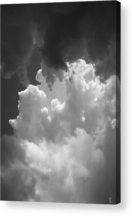 Clouds Acrylic Print featuring the photograph Buliding Storm by Brian Anderson
