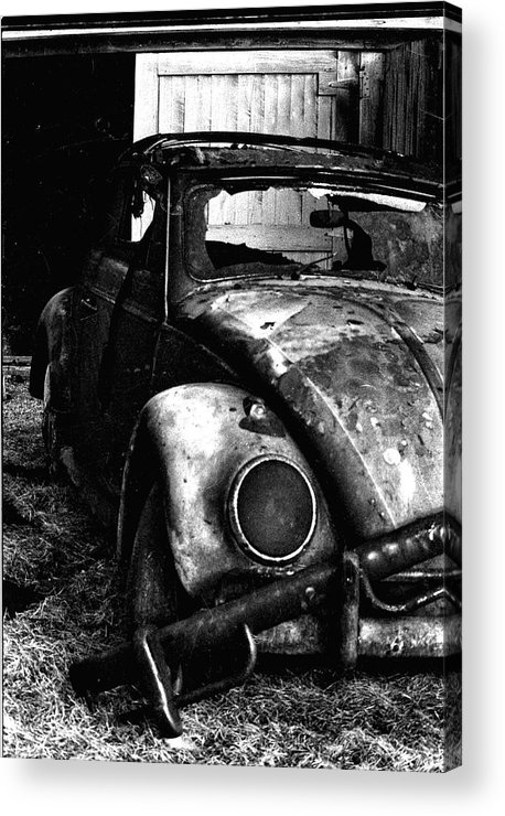 Vw Acrylic Print featuring the photograph Bwvw by Michael Smith
