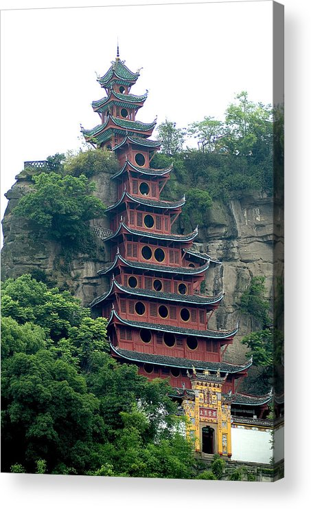 China Acrylic Print featuring the photograph Chna by Charles Ridgway