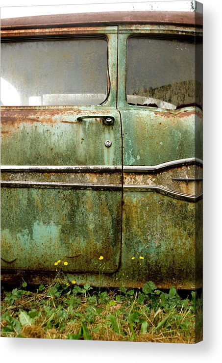 Cars Acrylic Print featuring the photograph Circle Of Life by Jennifer Owen