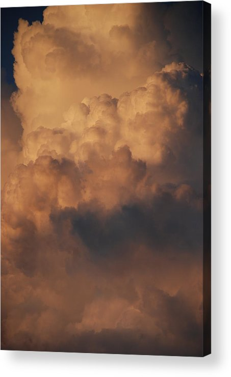 Clouds Acrylic Print featuring the photograph Clouds In Color by Rob Hans
