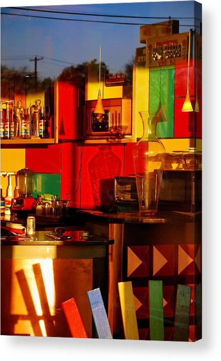 Skip Hunt Acrylic Print featuring the photograph Coffee Shop by Skip Hunt