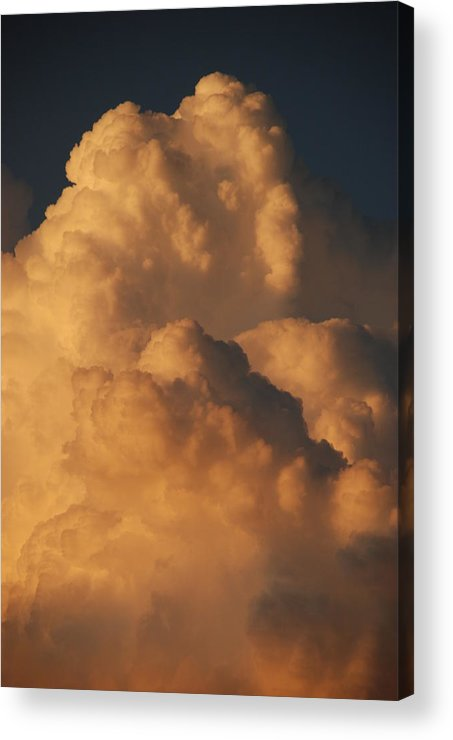 Clouds Acrylic Print featuring the photograph Coppermouth by Rob Hans