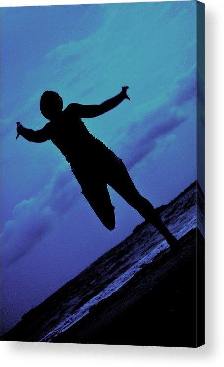 Sea Acrylic Print featuring the photograph Dance By The Sea by Trudi Southerland