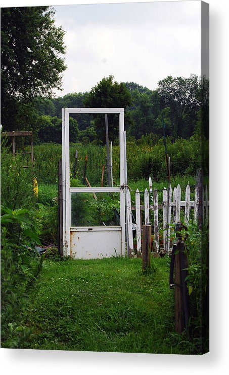 Door Acrylic Print featuring the photograph Doorway by Coralyn Klubnick Simone