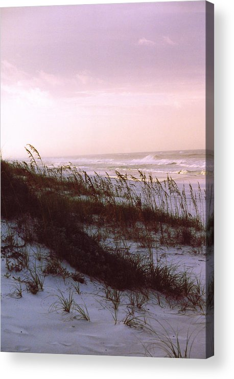 Ocean Acrylic Print featuring the photograph Dune Sunrise by Deborah Gallaway