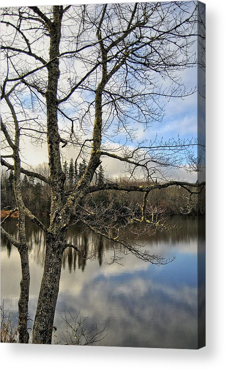 Grants Lake Acrylic Print featuring the photograph End Of A Season by Kathleen Sartoris