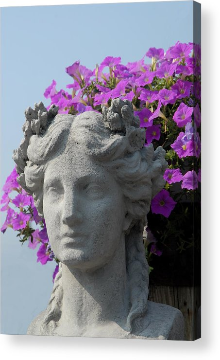 Garden Ornament Acrylic Print featuring the photograph Garden 29 by Joyce StJames
