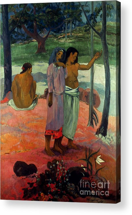 1902 Acrylic Print featuring the photograph Gauguin: Call, 1902 by Granger