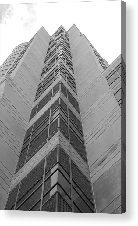 Architecture Acrylic Print featuring the photograph Glass Tower by Rob Hans