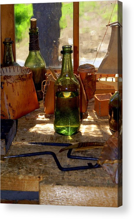 Still Life Acrylic Print featuring the photograph Historic Still Llife by Marty Koch