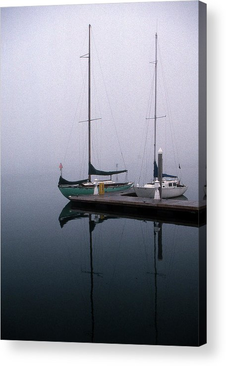 Marine Acrylic Print featuring the photograph Home Again by Skip Willits
