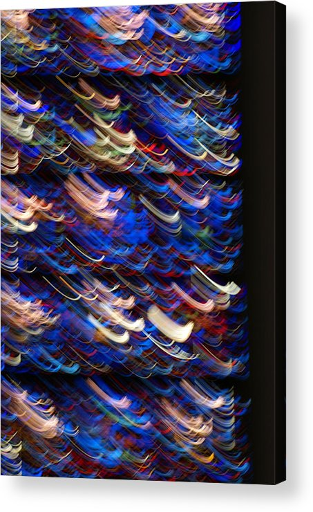 Stined-glass Acrylic Print featuring the photograph Light In A Stained-glass by Helene Champaloux-Saraswati
