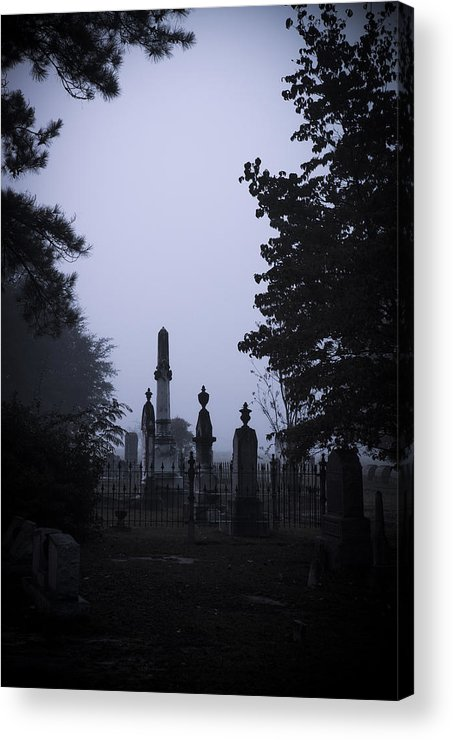Toned Acrylic Print featuring the photograph Light On The Stones by Alicia Collins