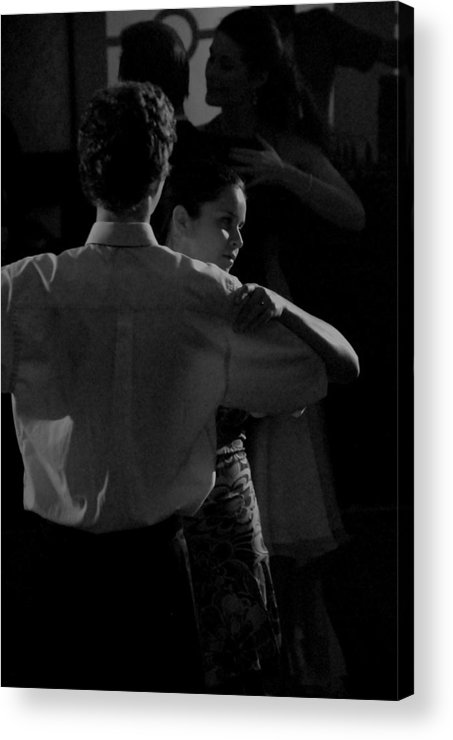 Couple Acrylic Print featuring the photograph Lover by Steven Crown