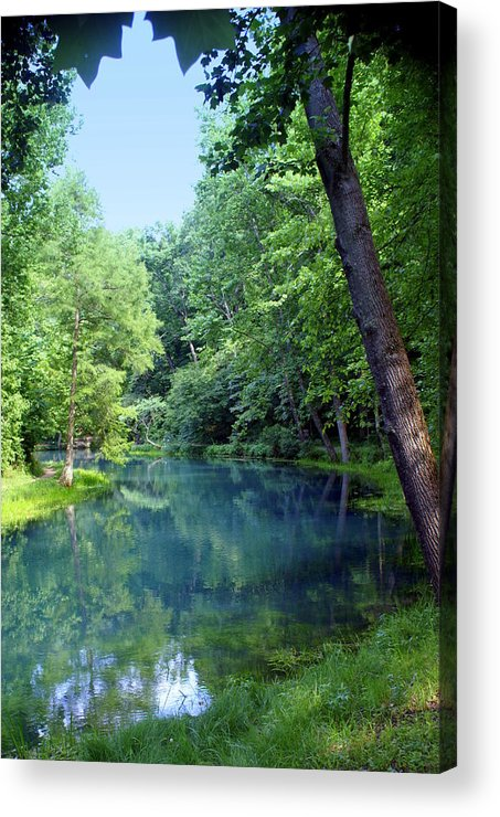 Maramec Springs Park Acrylic Print featuring the photograph Maramec Springs 2 by Marty Koch