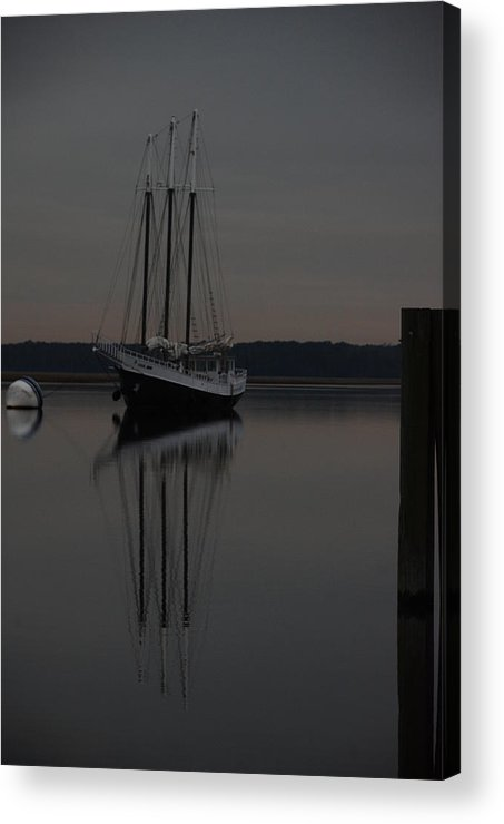 Reflection In Water Acrylic Print featuring the photograph Moment In Time by Renee Holder