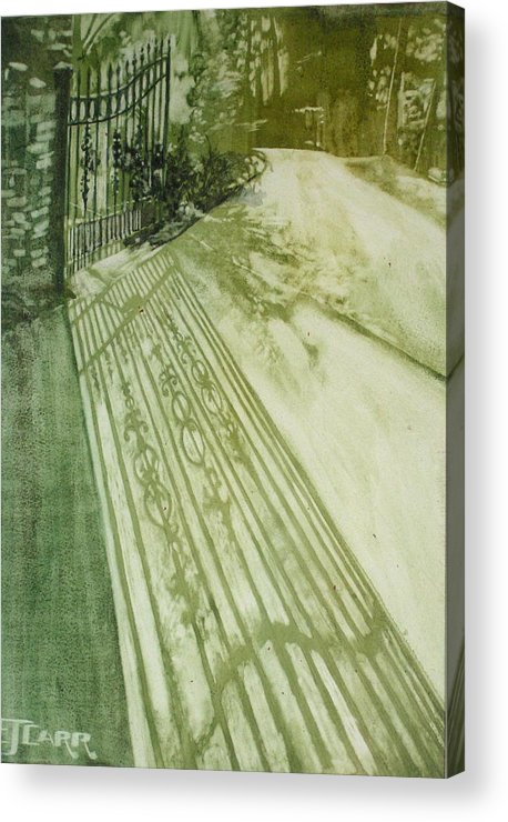 Green Acrylic Print featuring the painting Morning Light by Elizabeth Carr