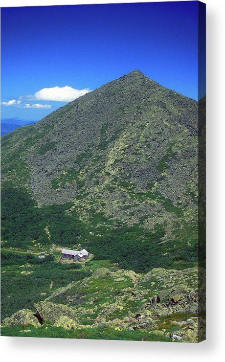 New Hampshire Acrylic Print featuring the photograph Mount Madison From Mount Adams by John Burk