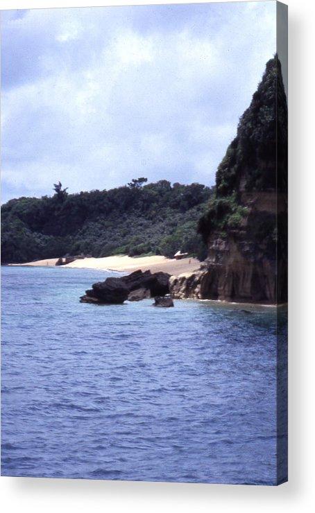 Okinawa Acrylic Print featuring the photograph Okinawa Beach 10 by Curtis J Neeley Jr